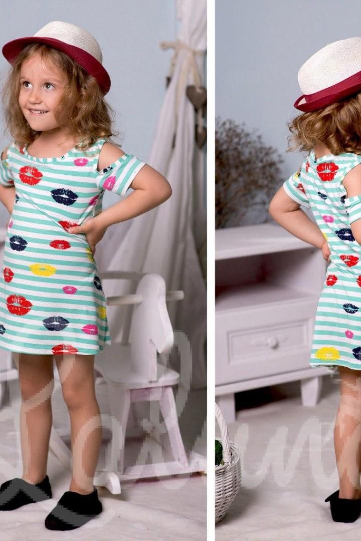 Детское платье морячка EV-2182