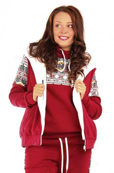 Теплый спортивный костюм тройка RO-2058