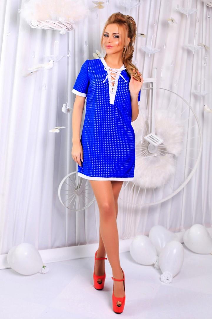 Легкое короткое платье AP-145