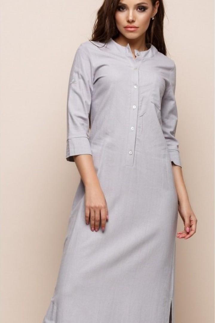 Стильное длинное платье  TRP-5116