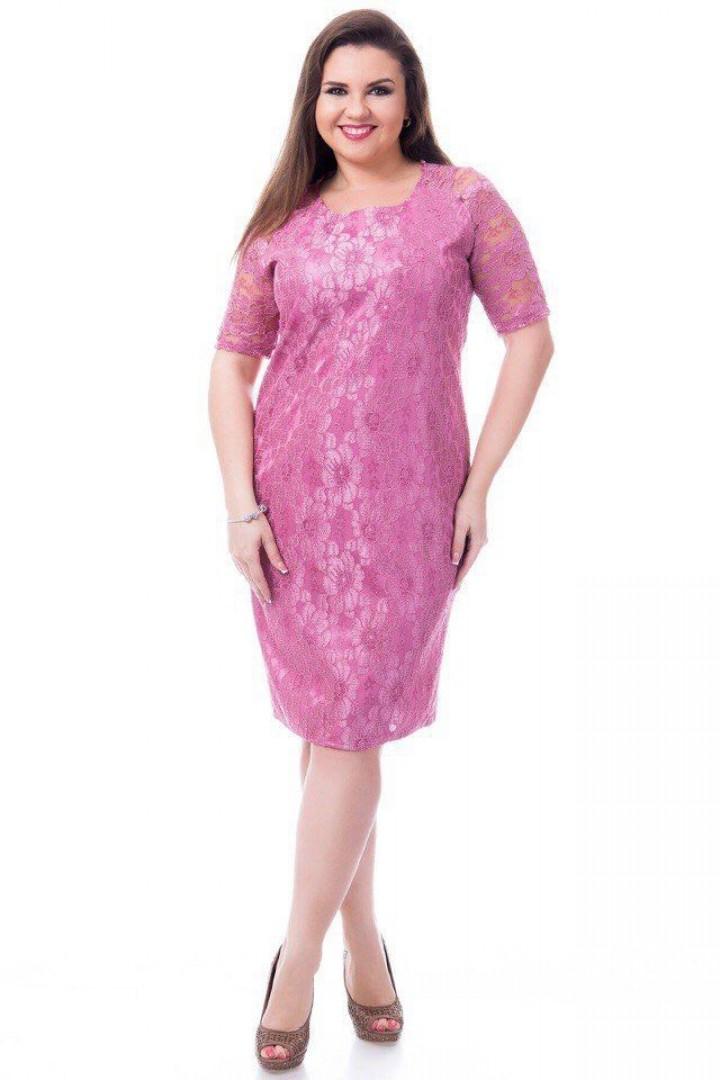 Платье миди женское АО-1708
