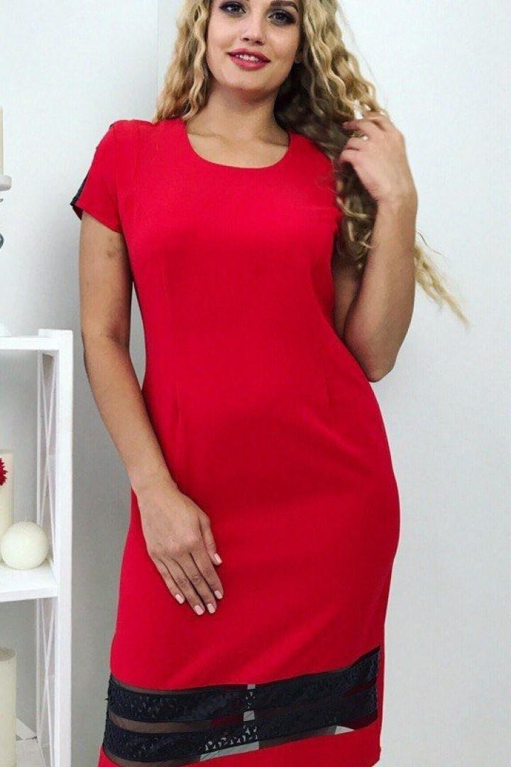 Платье приталенного силуэта АО-1613