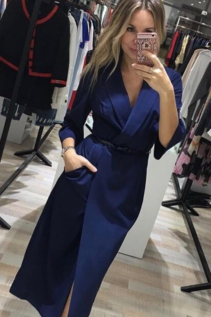 Платье на кнопках KL-291