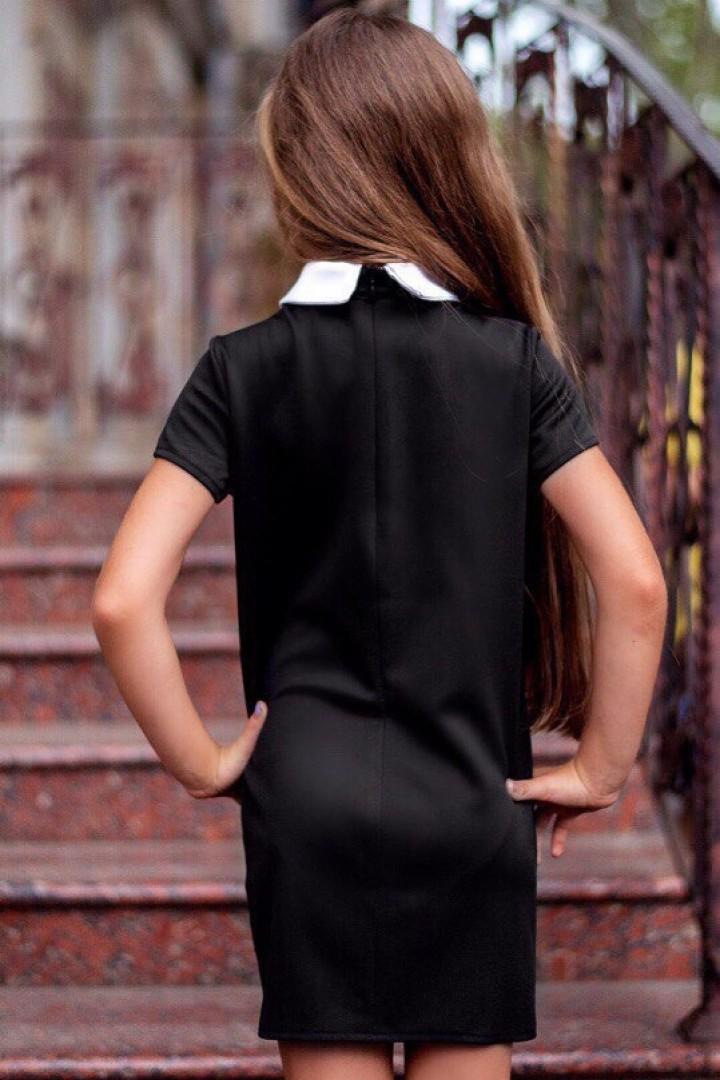 Школьное платье для девочки KL-063