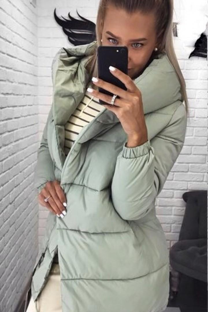 Куртка с капюшоном теплая EP-505