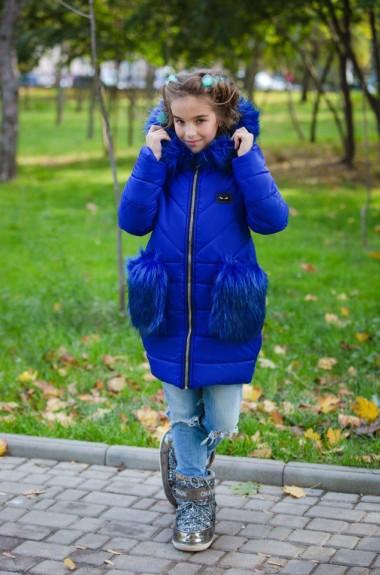 Теплая куртка на флисе KL-315