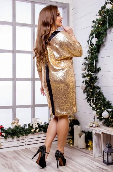 Платье блестящее с пайетками SIM-8215