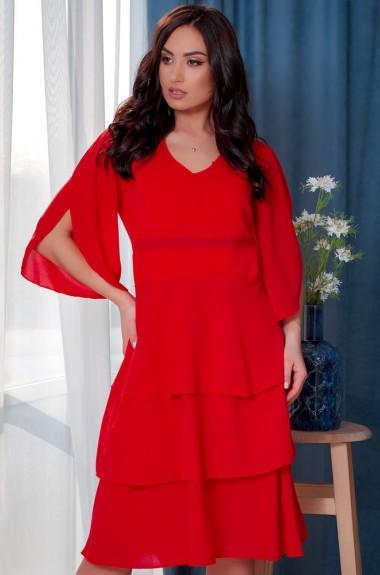 Платье с оборками женское SIM-7150A18