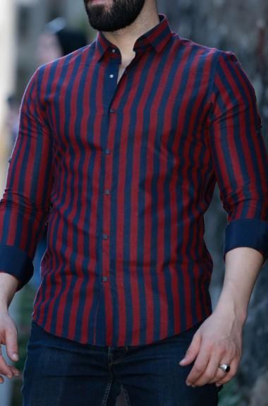 Рубашка в полоску мужская RT-10837182A400