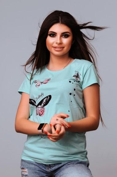 Красивая модная футболка VCL-1902208A100