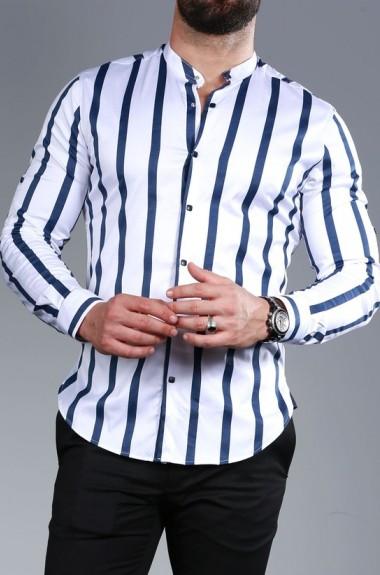 Рубашка в широкую полоску RT-0149317A400
