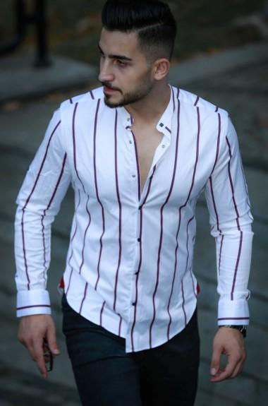 Полосатая рубашка мужская RT-0149313A400