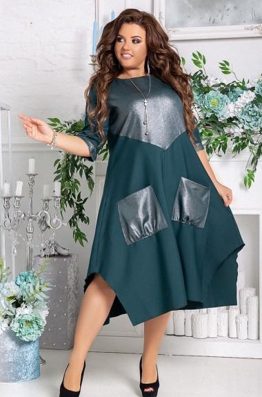 Платье асимметричного кроя LZ-546A480
