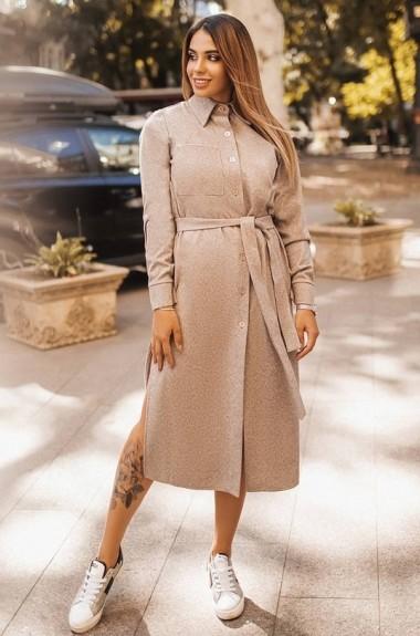 Женское шерстяное платье YM-5061A28B29