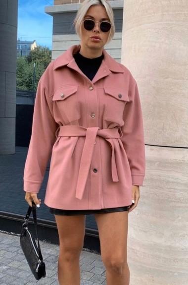 Короткое кашемировое пальто VL-545A18.5
