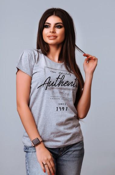 Простая женская футболка VCL-2002203A100