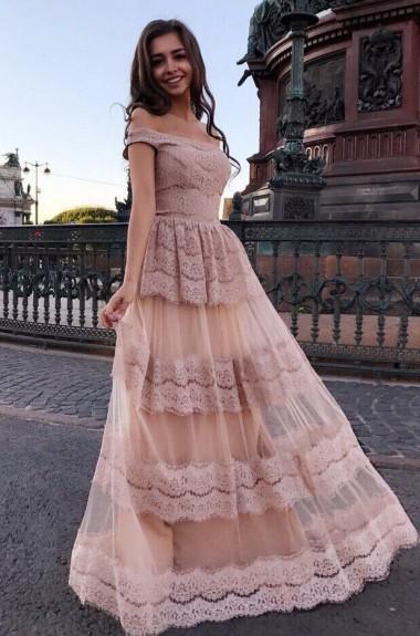 Шикарное платье в пол VK-H395