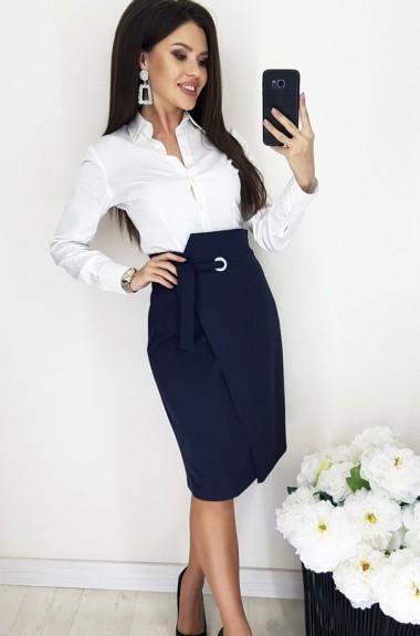 Прямая юбка с запахом RZ-512A230