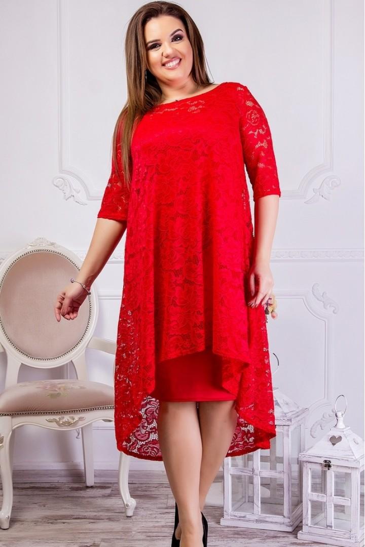 Красивое гипюровое платье SIM-S8214