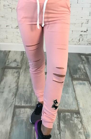 Модные спортивные штаны женские NY-073