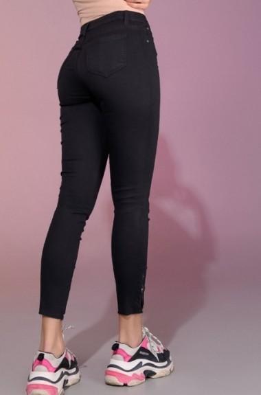 Узкие черные джинсы DG-at646A250