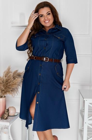 Стильное джинсовое платье DV-R4068A380