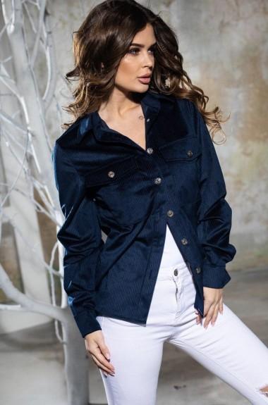 Вельветовая рубашка женская KV-S1022A400