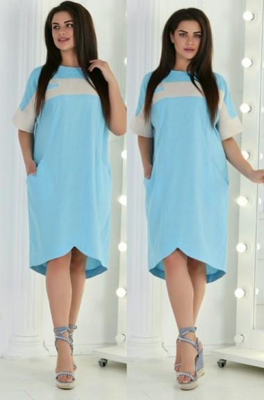 Платье прямое свободное IV-028A250