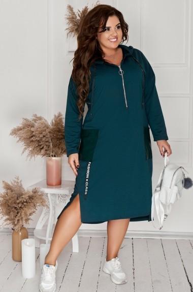 Женское платье с капюшоном NNC-162A370