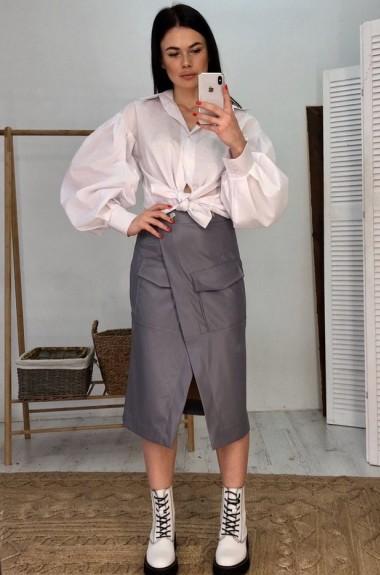 Модная юбка с запахом VK-U16A500