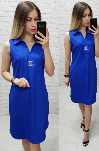 Красивое прямое платье MUN-167A280