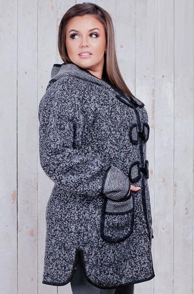 Трикотажная куртка с капюшоном RI-1722A23