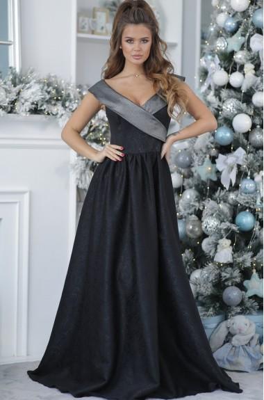 Шикарное вечернее платье в пол NA-332A27