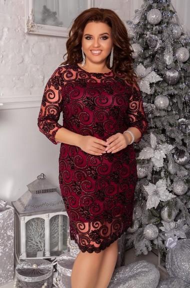 Блестящее женское платье NS-067A580