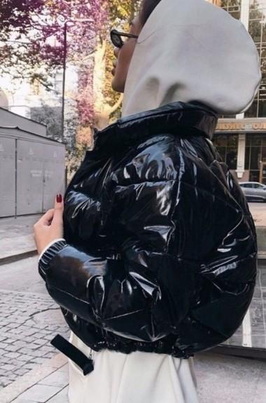 Лаковая куртка женская LIA-7204A380