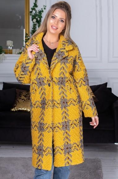 Букле пальто женское AM-5238A37