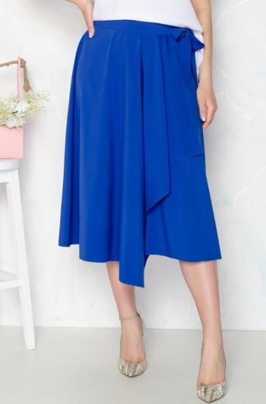 Асимметричная юбка с запахом IV-105A295