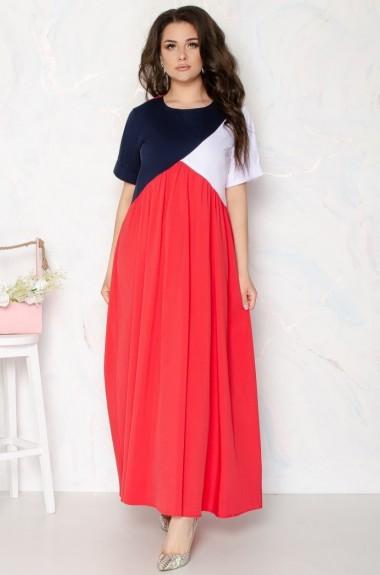 Длинное свободное платье IV-104A350