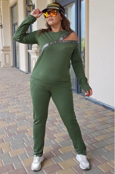 Повседневный спортивный костюм YM-5009A16B17