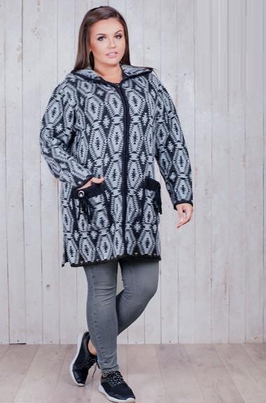 Шерстяная куртка женская RI-1602A20.7