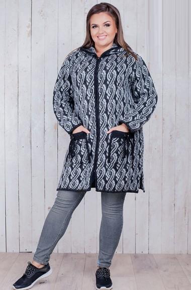 Теплая куртка с капюшоном RI-1603A18.5
