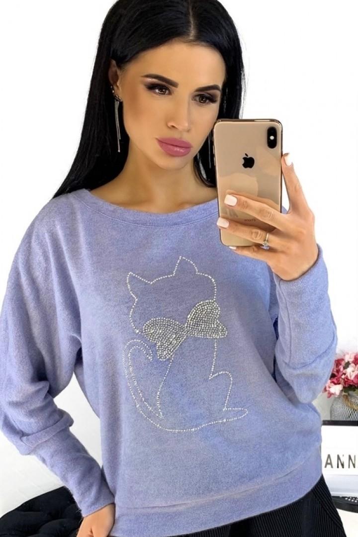 Модный молодежный свитер ANA-1303A11