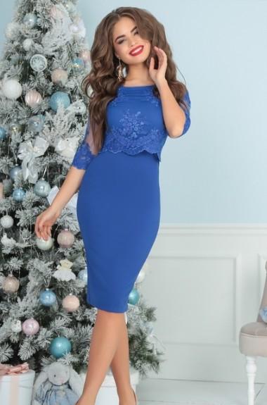 Красивое платье с вышивкой PRAT-2152.2153 b65bc5c537da2