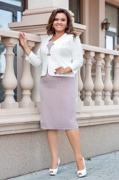 Женский костюм платье с пиджаком AO-1923A450