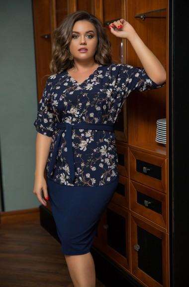 Комплект юбка и блузка LZ-464A420