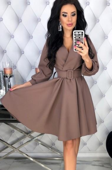 Платье с юбкой клеш EFR-454A13.5