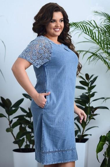Тонкое джинсовое платье RI-2010A19