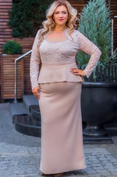 Шикарное длинное платье AS-413A21