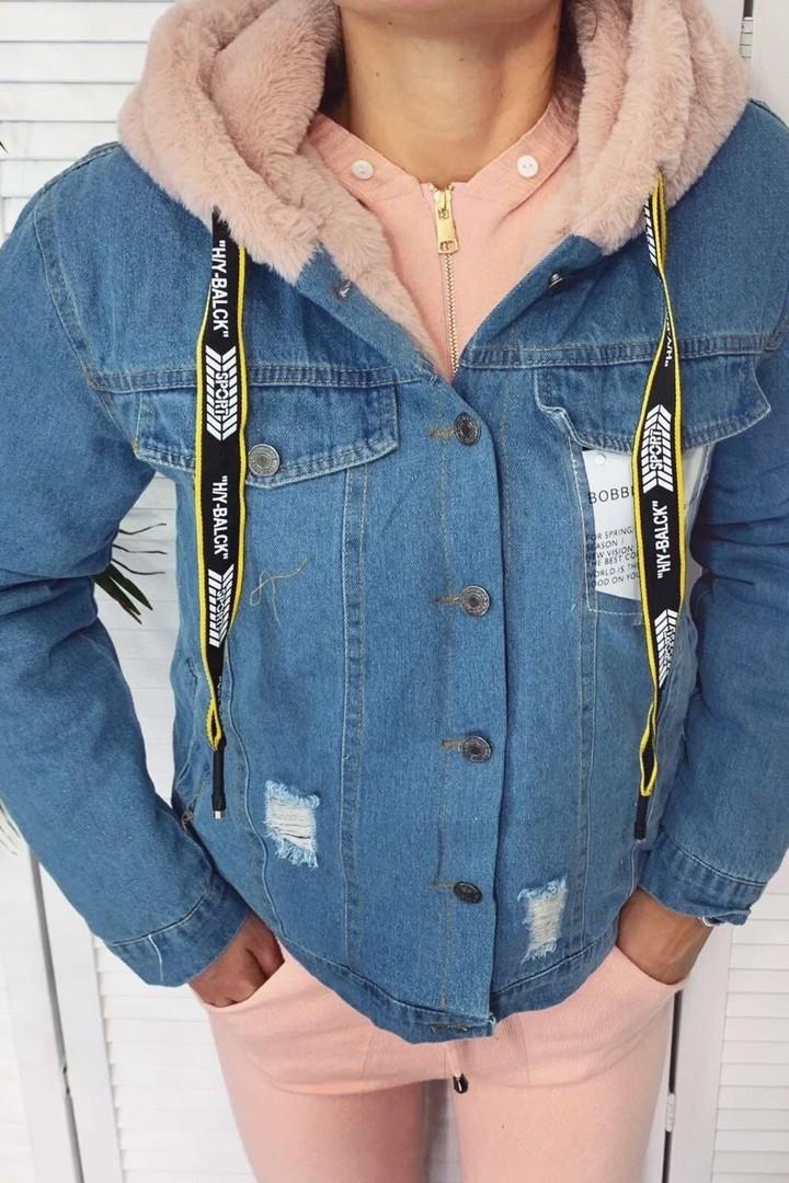 Утепленная куртка с капюшоном YYAH-3350A750