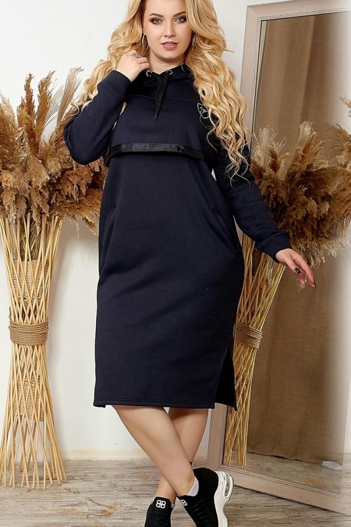 Платье с кокеткой SVA-1021A385